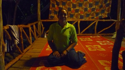 Our masseur Kun Moi