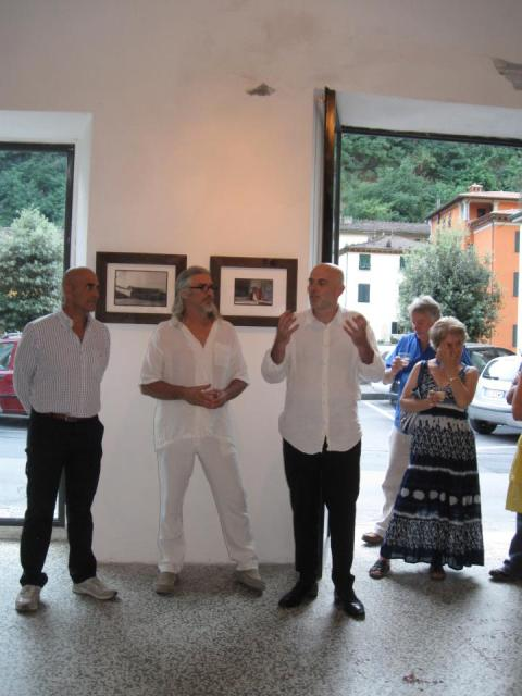 Opening at la Rondine gallery