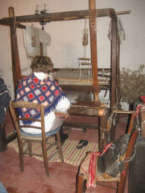 Weaving - photo by Maureen Halson