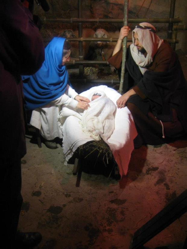 live nativity - photo by Maureen Halson