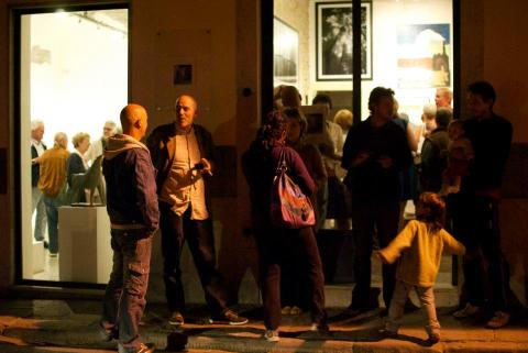 Exhibtion opening at La Rondine Gallery