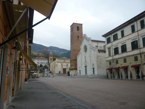 Piazza of Pietrasanta