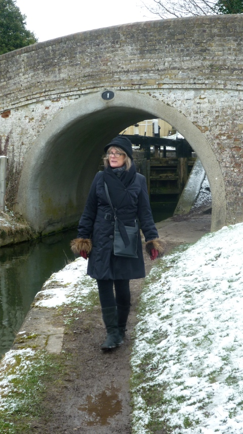 Shona on the Grand Union canal