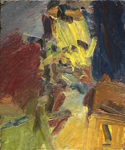 Frank Auerbach at Ben Brown Gallery, Pedder building