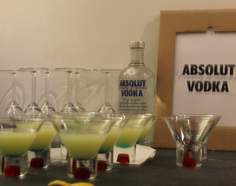 La Rondine cocktail sponsored by Absolut