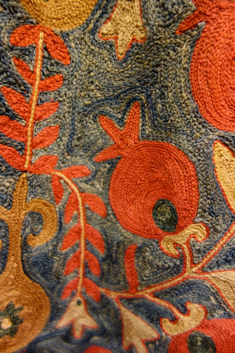 exquisite embroidery detail