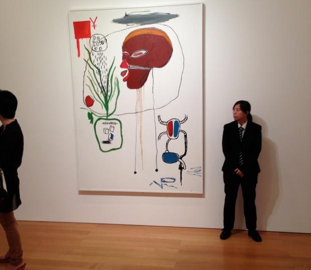 Basquiat at Gargosian Gallery, Pedder Building