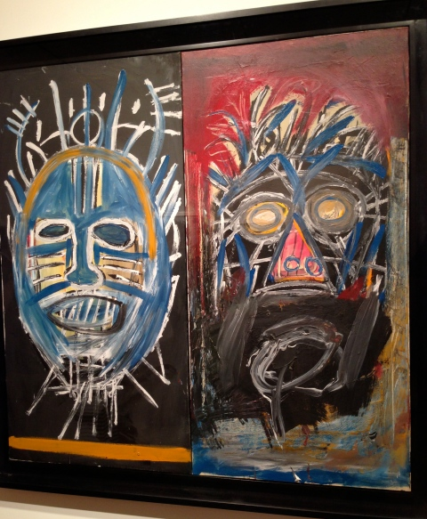 Basquiat at Gargosian Gallery, Pedder Building