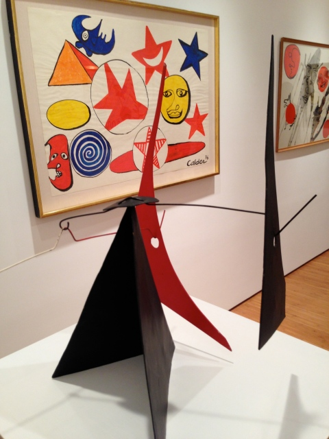 Alexander Calder at Ben Brown Gallery, Pedder building