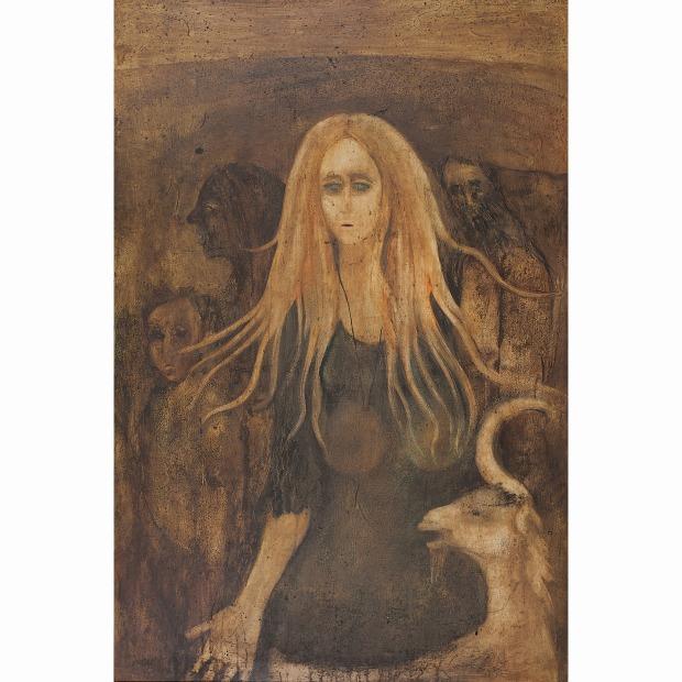 "Anjolie Ela Menon - 'Madonna of Merriweather Road"""