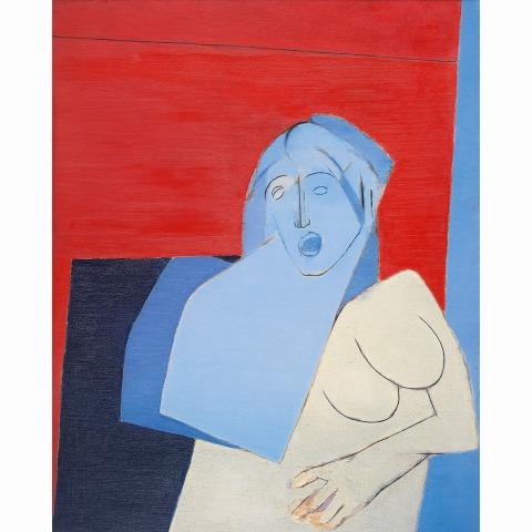 Tyeb Mehta - 'Blue Torso'