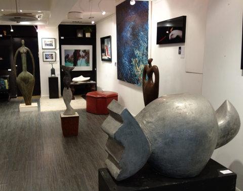 La Rondine Gallery POP UP at 3 Wa Lane Sheung Wan HK