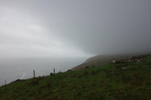 heavy mist