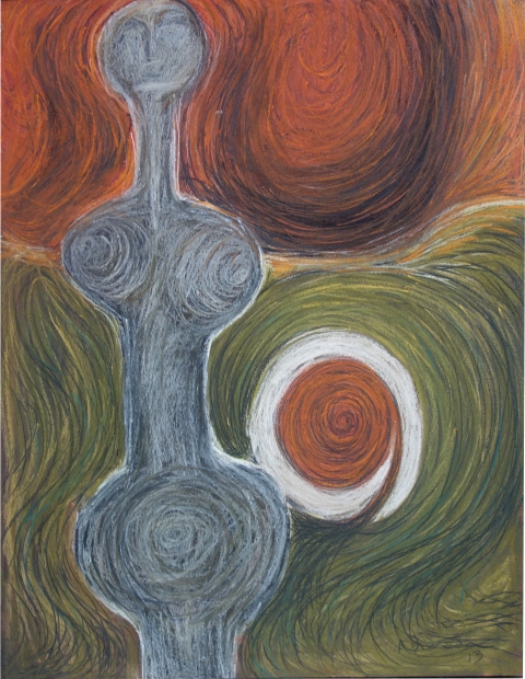 Shona Nunan - pastel on paper